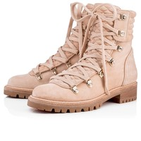 Mad Boot Flat Nu Suede - Women Shoes - Christian Louboutin
