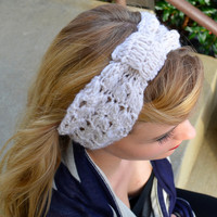 Knotty Pine Crochet Headbands