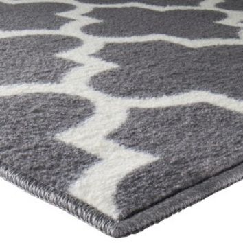 threshold fretwork rug from target for the home