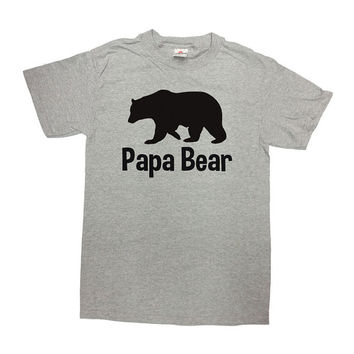 Papa Bear Shirt Fathers Day Gift Papa Shirt Best Papa Ever Dad T Shirt Daddy Gift For Dad Best Dad Dad Gift Ideas Mens Tee - SA187