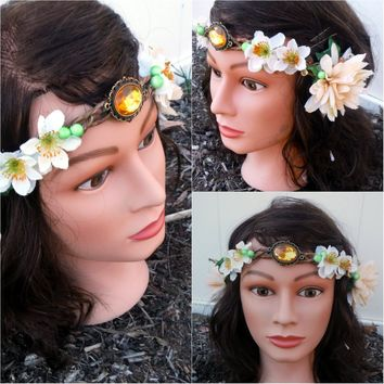 Woodland Forest Fairy Flower Crown