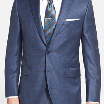 Peter Millar 'Flynn' Classic Fit Plaid Check Sport Coat,