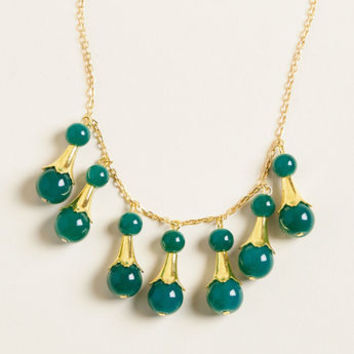 Throwback Bauble Statement Necklace
