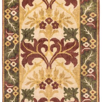 Surya Uncharted UND2007 Brown/Red Arts and Crafts Area Rug