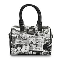 Star Wars Black And White Classic Comic Anime Duffle Bag Purse