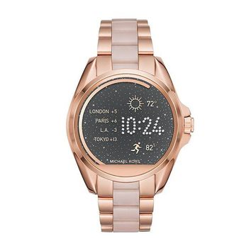 DCCK2JE Michael Kors Women's 43mm Access Bradshaw Rose Goldtone Smartwatch