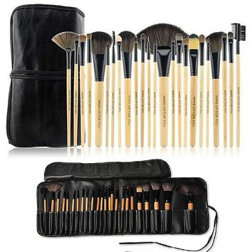 24 Piece High Quality Makeup Brush Set