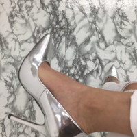 Lala Pumps - Silver