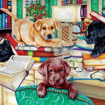 Reading Time 500pc Jigsaw Puzzle