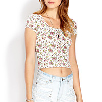 Flower Child Crop Top