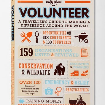 Urban Outfitters - Volunteer By Lonely Planet Publications