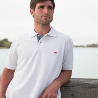 The Stonewall American Flag Polo from Southern Marsh - Collegiate - University of Houston