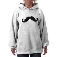 just a mustache hoodie from Zazzle.com