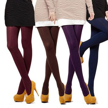 1 Pair 8 Colors NEW Sexy Women Lady Beauty Opaque Thine Footed Dance Tights Pantyhose Stockings