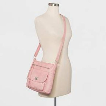 Women's Beuno Washed Crossbody Bag - Blush