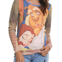 Disney Beauty And The Beast Girls Pullover