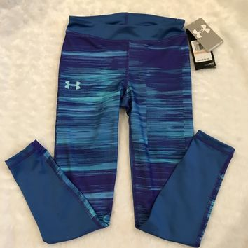 NWT Under Armour Girls Wkout Pants