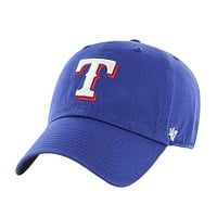 Texas Rangers - Logo Clean Up Adjustable Baseball Cap
