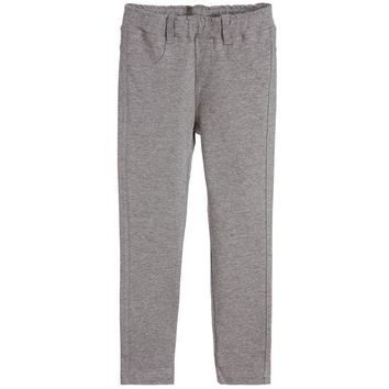 Fendi Girls Grey Jeggings