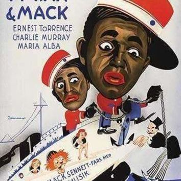 Circus On Board - Comedy with Mack & Moran (Paper Poster)