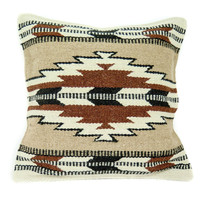 NATIVE AMERICAN GEOMETRIC ACCENT PILLOW 8201
