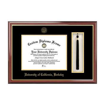 Campus Images University of California, Berkeley Tassel Box and Diploma Frame