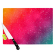 """Fotios Pavlopoulos """"Colorful Constellation"""" Pink Glam Cutting Board"""