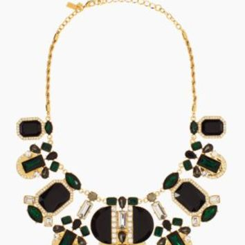 Kate Spade Art Deco Gems Statement Necklace