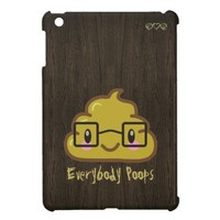 everybody poops - featuring smarty poo case for the iPad mini from Zazzle.com