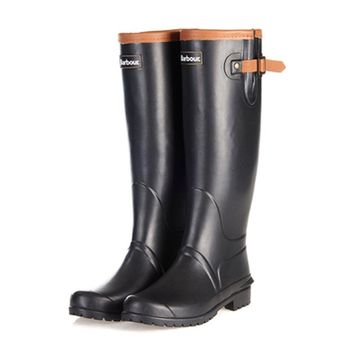 Blyth Wellington Boots in Black by Barbour - FINAL SALE