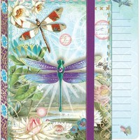 Soft Cover Bungee Journal - Dragonflies
