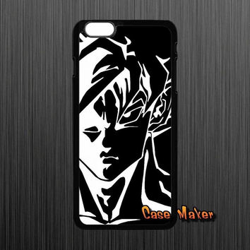 Dragon Ball Z Goku Drawing In Black And White Phone Case