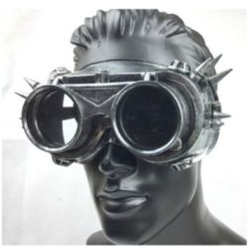 Steampunk Silver/Gold Spike Glasses/ Mask