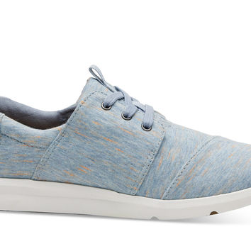 ALASKAN BLUE HEATHER JERSEY WOMEN'S DEL REY SNEAKERS
