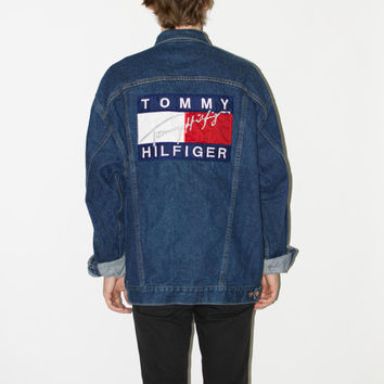 Vintage 90's Tommy Hilfiger Denim Jacket