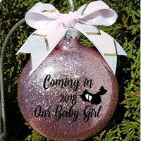 Adoption Gift New Parents For this Child we have prayed Custom Name Christmas Gift for Couple Ornament comes in a Gift Box