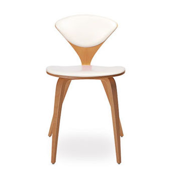cherner side chair - upholstered seat & back