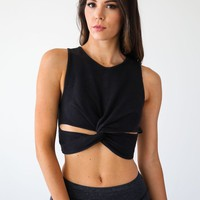 Free People Black Supernova Top - Luca + Grae