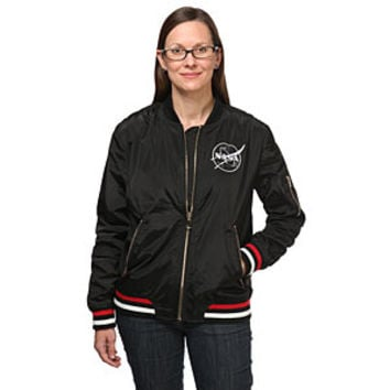 NASA Ladies' Bomber Jacket