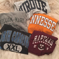 Mystery Vintage College TShirt
