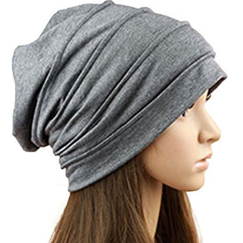 Yangtze Cotton Head Covering,Sleep Cap Head,Cancer Hats for Chemo Patients