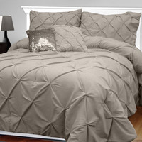 Veratex 5-pc. Kayla Micro Matique Comforter Set: 100% Double Brushed Micro Matique for Luxurious Drape and Touch!