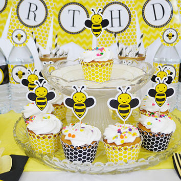 Bumble Bee Birthday Party Honey Decoration MINI KIT