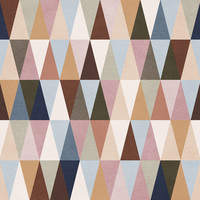 Earth Triangles Removable Wallpaper