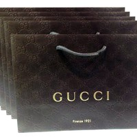 Gucci Gift Paper Shopping Bags, 5pk
