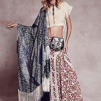 Free People Womens FP ONE Zoe Maxi Skirt
