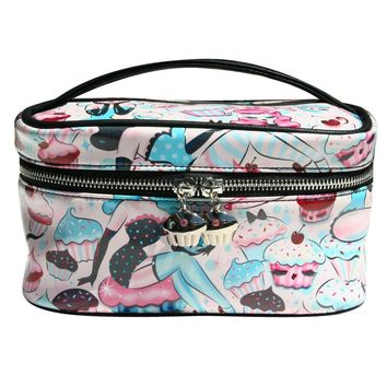 Cupcake Dolls Cosmetic Train Case