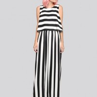 Hold The Line Maxi Dress