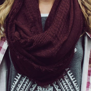Mountain Resort Infinity Scarf