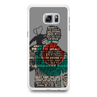Walking Dead Daryl Dixon Quotes Samsung Galaxy S6 Edge Plus Case